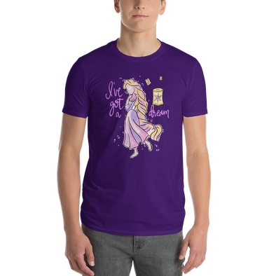 Watercolor: Rapunzel Unisex Tee