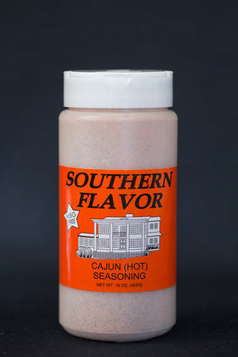 Cajun (Hot) Southern Flavor Seasoning, 15 oz. Canister