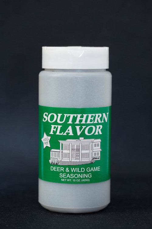 Deer & Wild Game Southern Flavor Seasoning, 15 oz. Canister