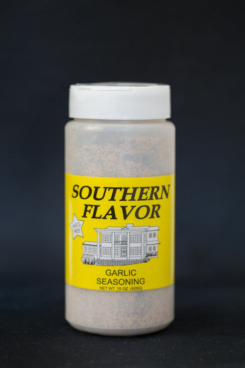 Garlic Southern Flavor Seasoning, 15 oz. Canister