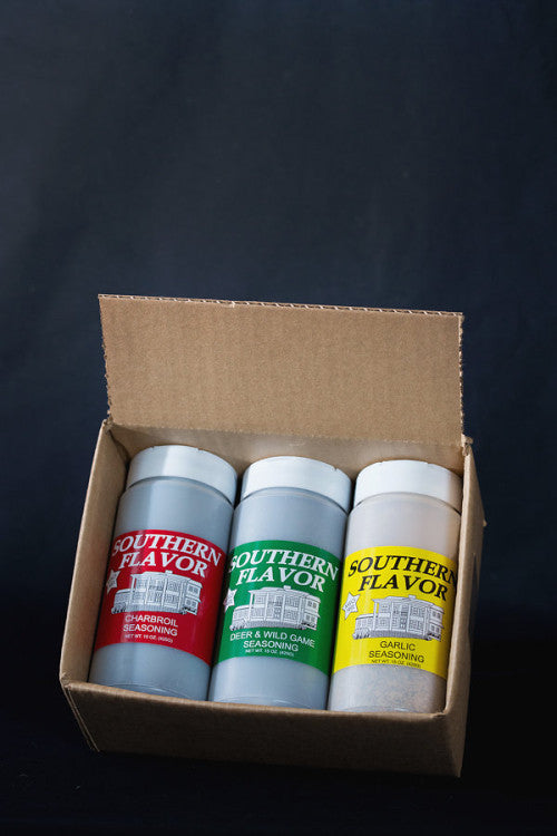 Southern Flavor 15oz Three Pack (The Perfect Gift!)
