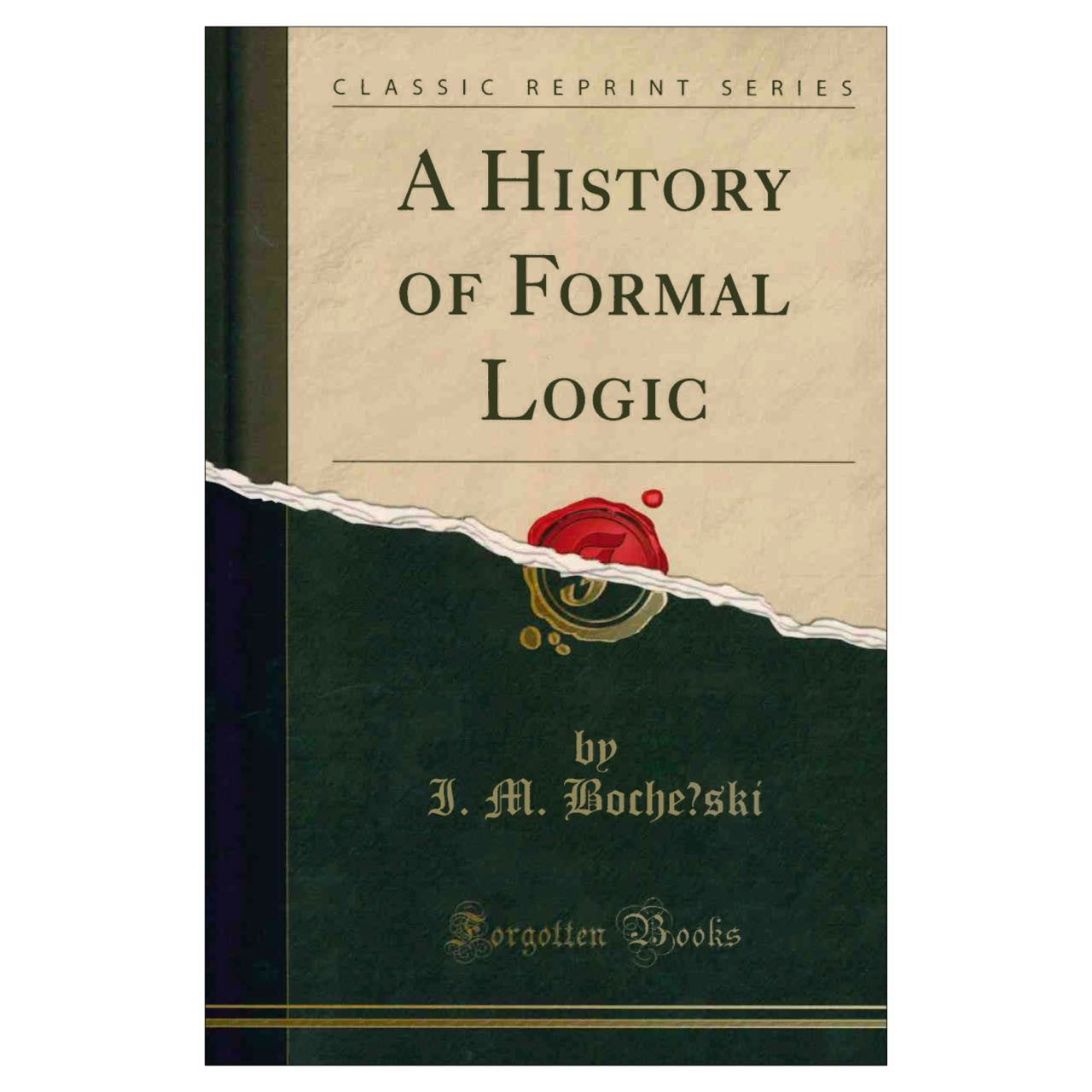 History of Formal Logic