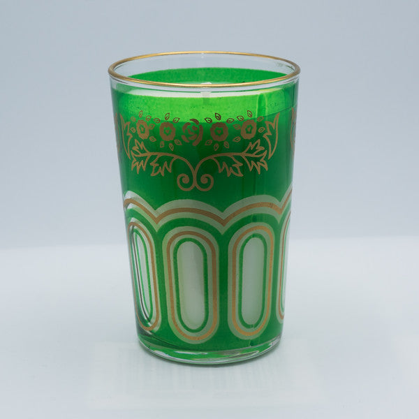 Moroccan Tea Glass Candle