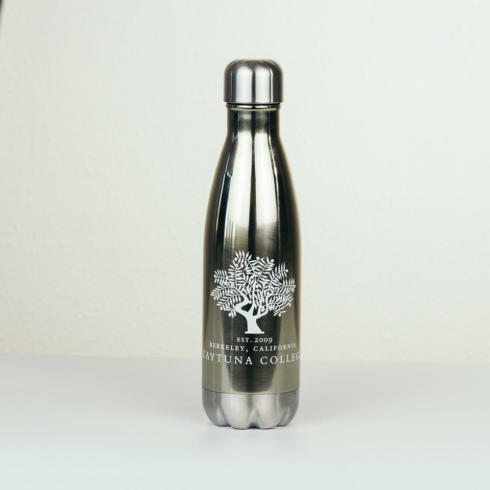 Zaytuna Est. Water Bottle - Gold