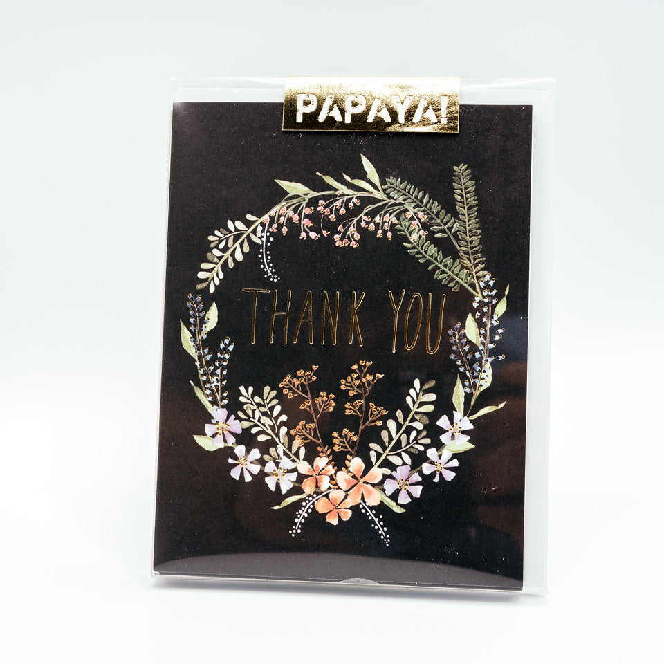 Watercolor Thank You - Boxed Card Set