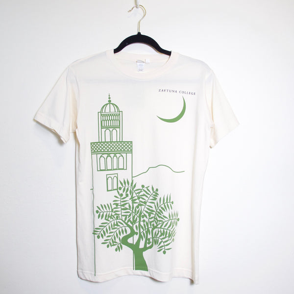 Zaytuna Everest Organic Tee | Unisex SS - Cream