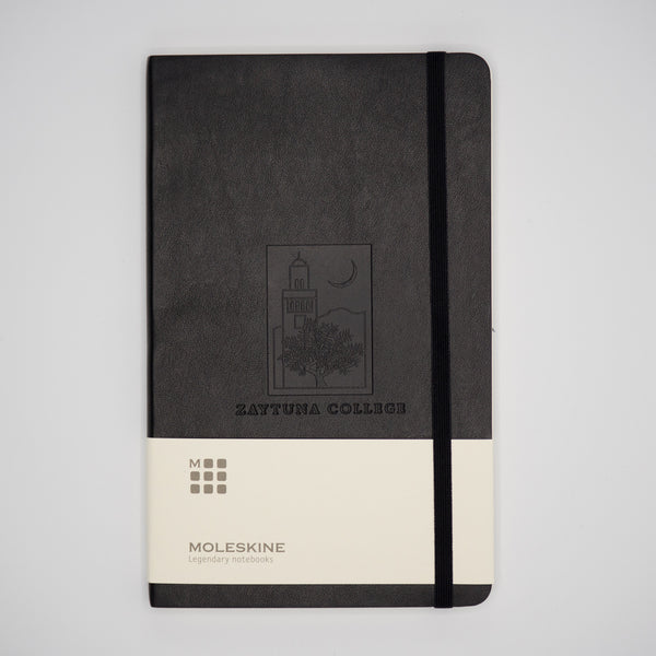 Black Leather Moleskin