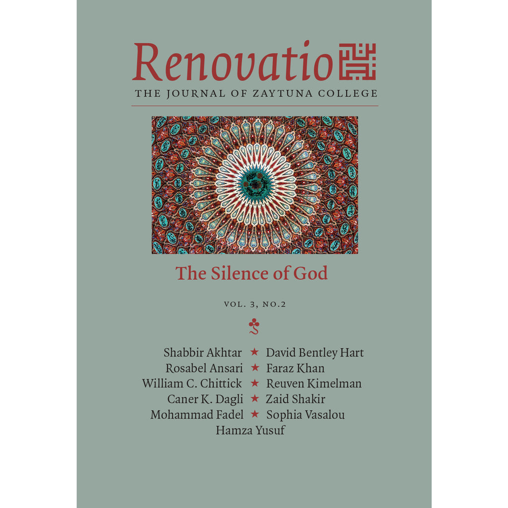 Renovatio:  The Silence of God