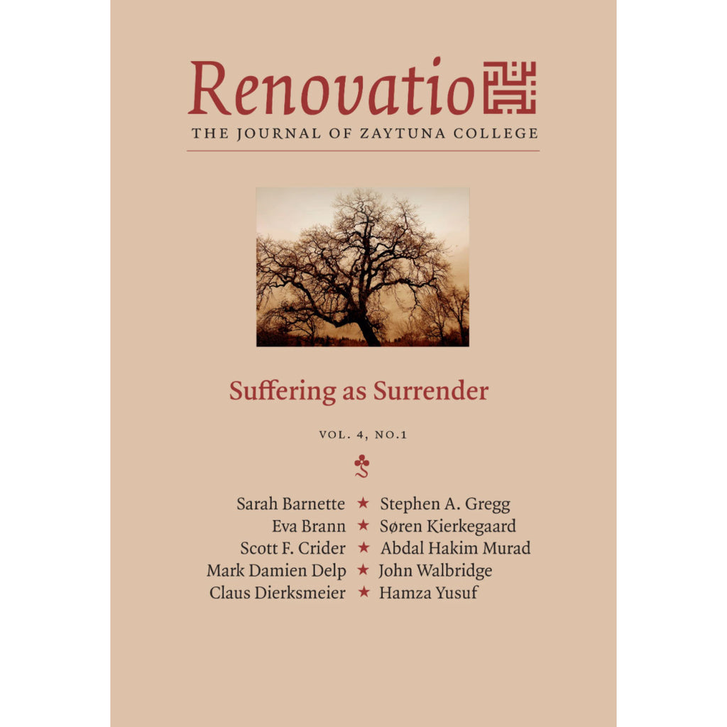 Renovatio:  Suffering as Surrender