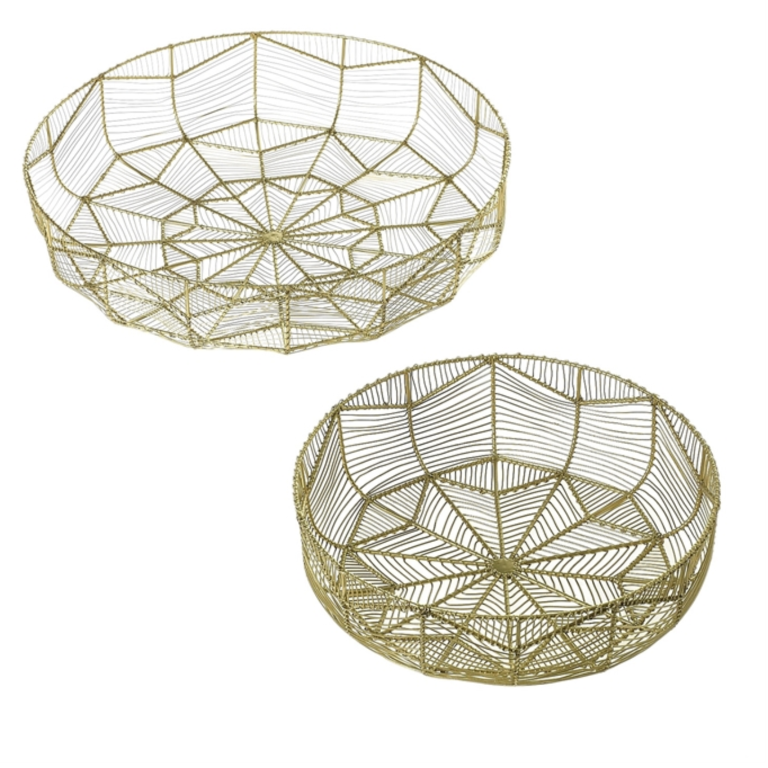 Geometric Wire Basket