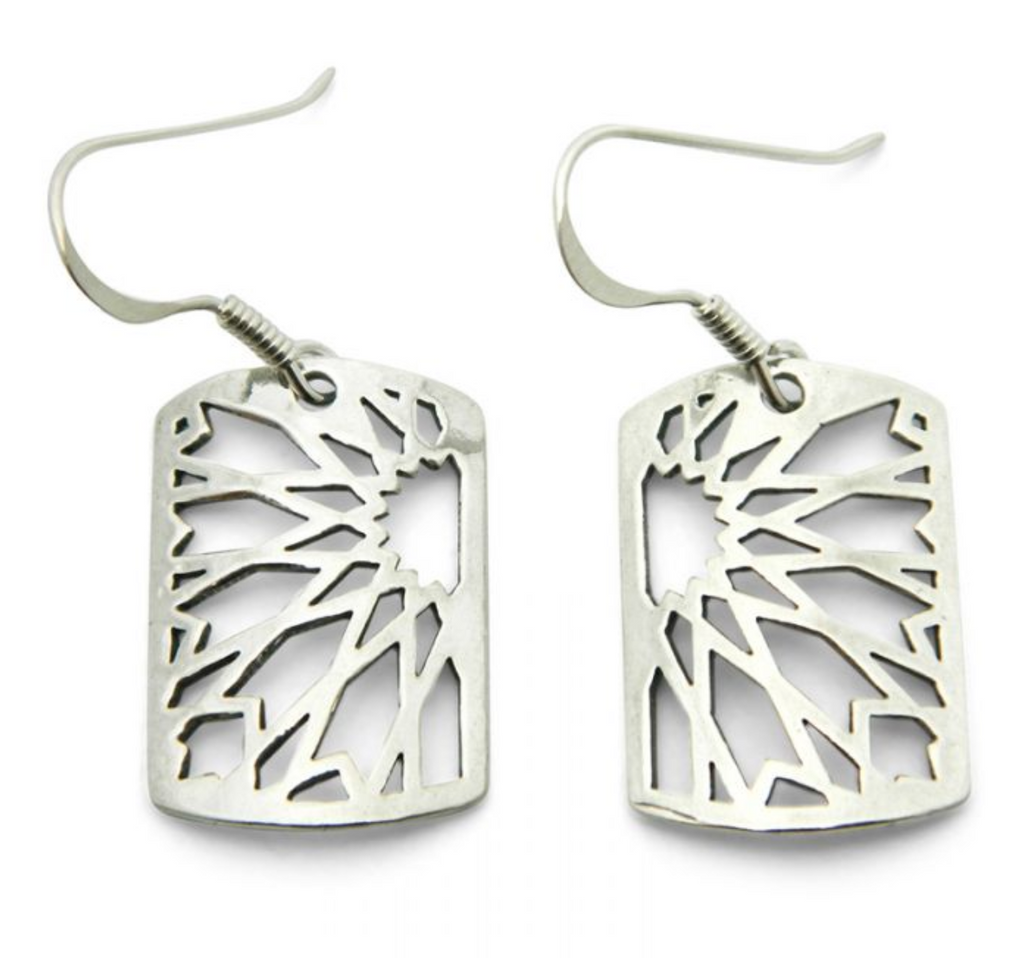 Silver Omeya Earrings
