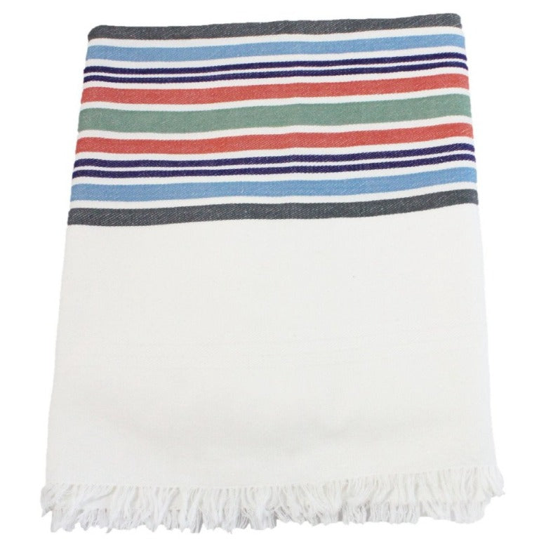 "Desert Stripe Tablecloth - 54"" x 54"""