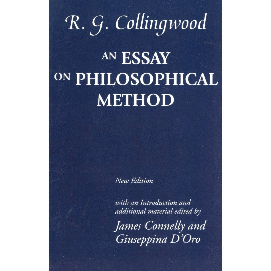 An Essay on Philosophical Method