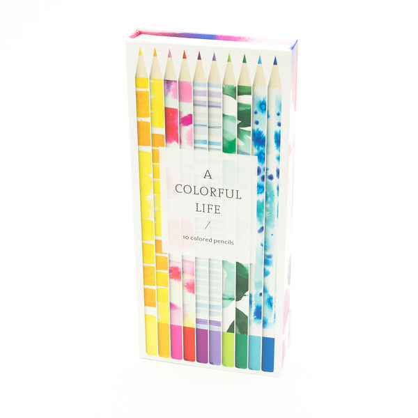 Colored Pencils - A Colorful Life