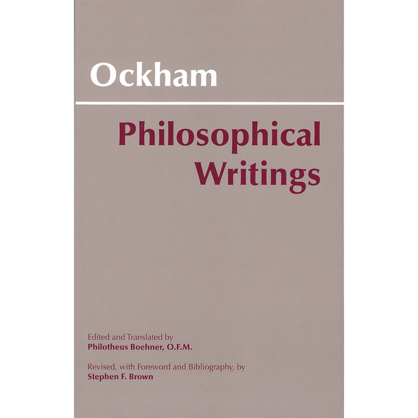 Ockham - Philosophical Writings