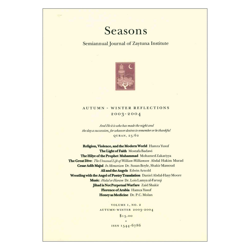 Seasons Journal | Autumn-Winter Reflections 2003-4
