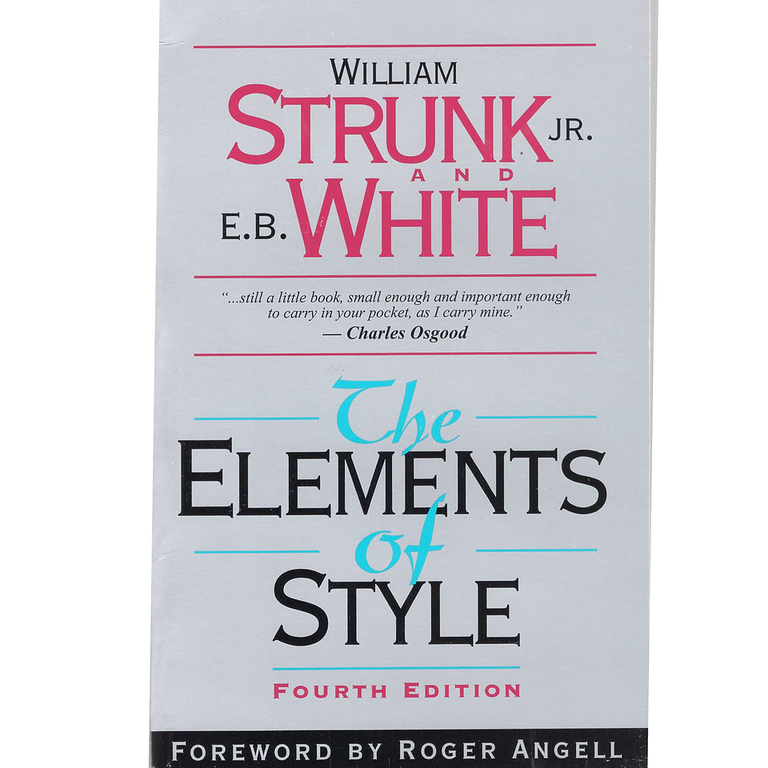 The Elements of Style / Edition 4