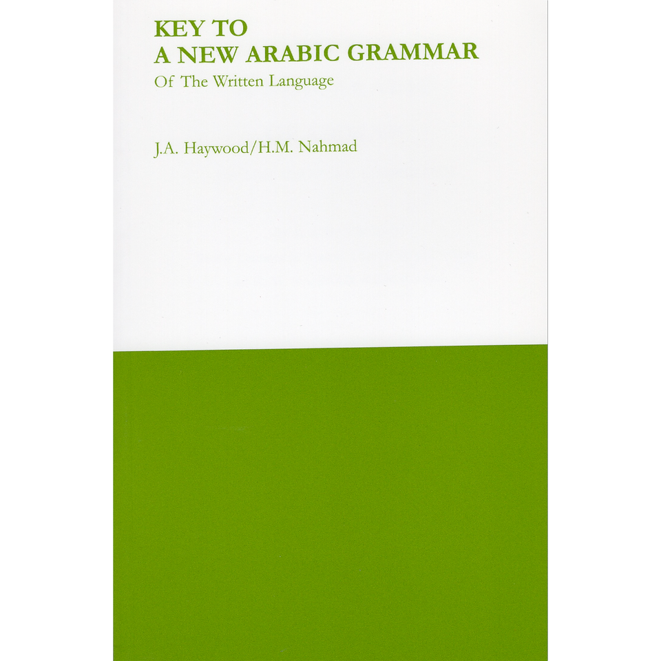 Key to a New Arabic Grammar