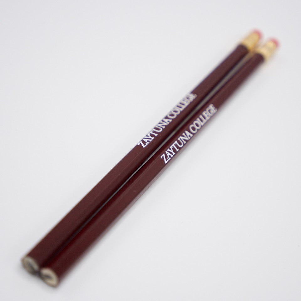 Zaytuna Maroon Hex Pencil