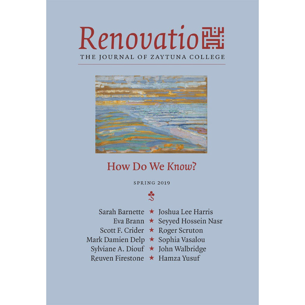 Renovatio:  The Journal of Zaytuna College - Spring 2019 Vol. 3, No. 1