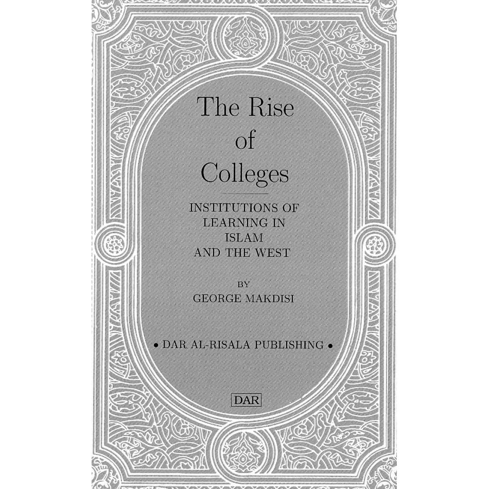 The Rise of Colleges