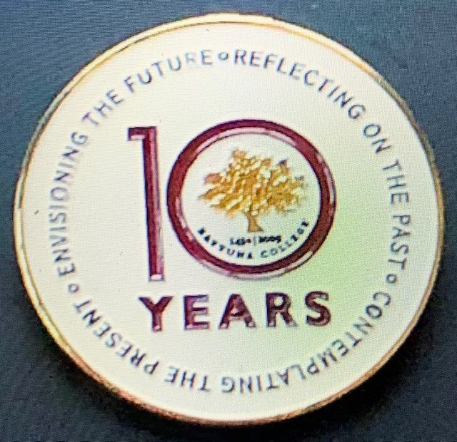 Zaytuna - 10 Year Pin