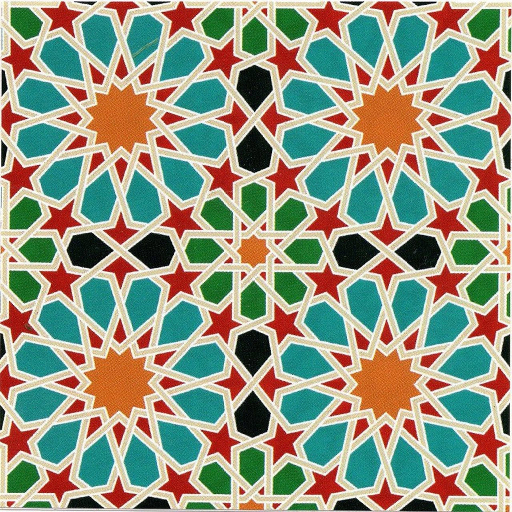 Sticker - Moroccan Stars