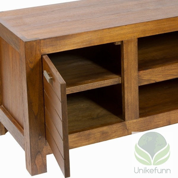 Ohio tv-stativ 2 skuffer - Be Yourself Samling by Craften Wood - Langlevering.no