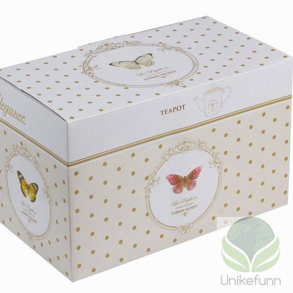 Tekanne med boks butterfly - Kitchen's Deco Samling by Bravissima Kitchen