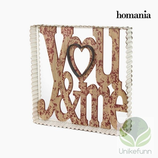 Metallramme you&me by Homania - Langlevering.no