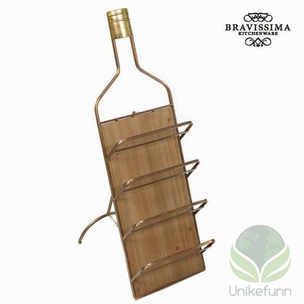 Metal wall wine hanger by Bravissima Kitchen - Langlevering.no