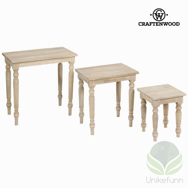 Bordsett av 3 - Pure Life Samling by Craftenwood