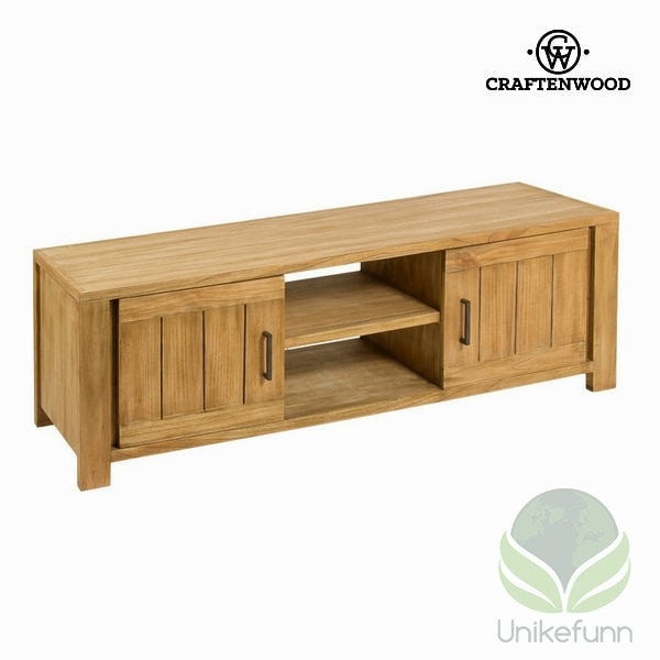 Tv-stativ chicago 140x40x50 cm - Square Samling by Craften Wood - Langlevering.no