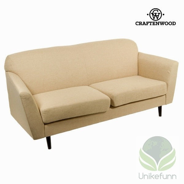 3 seters sofa beige abbey - Love Sixty Samling by Craften Wood - Langlevering.no