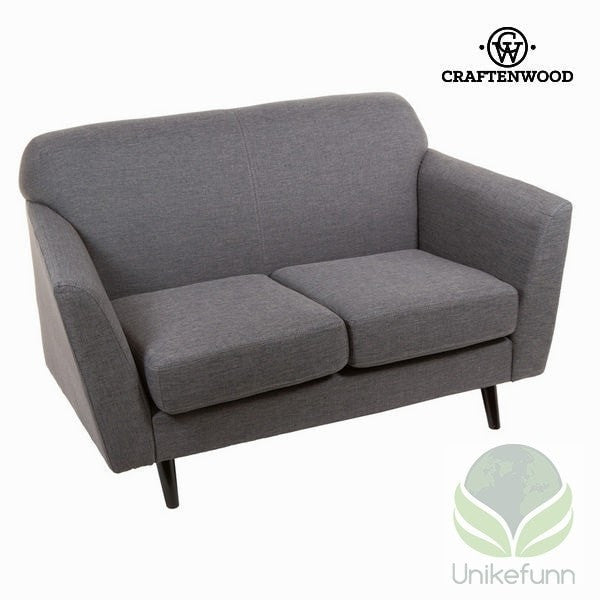 2 seters sofa grå abbey - Love Sixty Samling by Craften Wood - Langlevering.no
