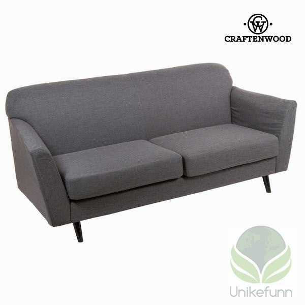 3 seters sofa grå abbey - Love Sixty Samling by Craften Wood - Langlevering.no