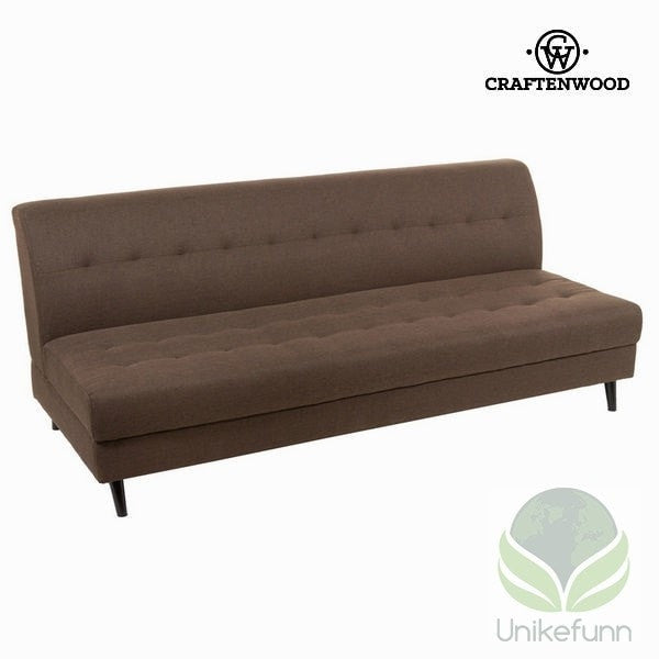 3 seters sofa brun loft - Love Sixty Samling by Craften Wood - Langlevering.no