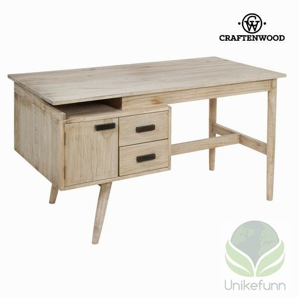 Skrivebord 2 skuffer - Pure Life Samling by Craften Wood - Langlevering.no