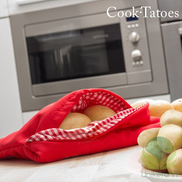 Cook Tatoes Mikrobølgeovn Potet Bag