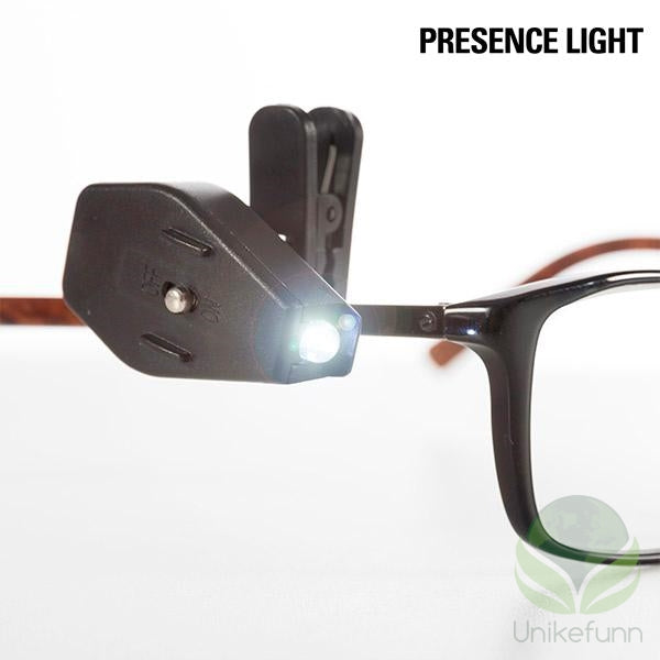 Presence Light 360º LED Clip til Briller