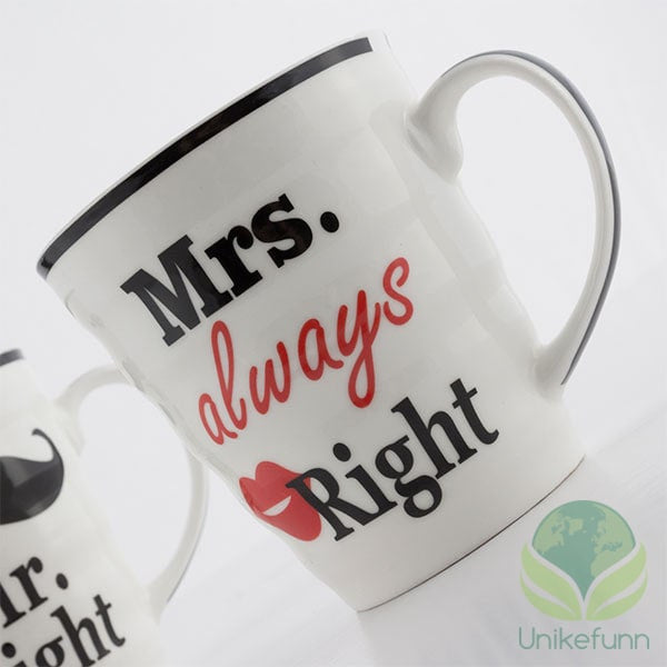 Mr. Right & Mrs. Always Right Kopper