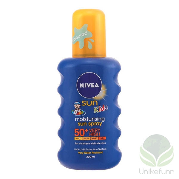 Nivea - SUN KIDS moisturizing spray SPF50+ 200 ml