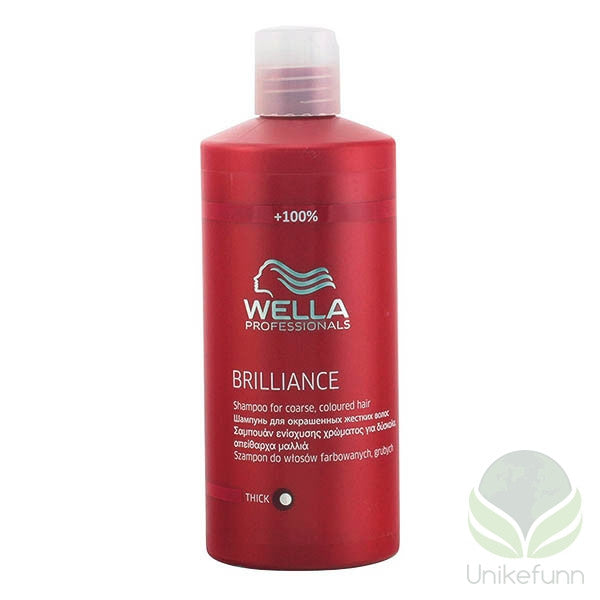 Wella - BRILLIANCE shampoo coarse hair 500 ml