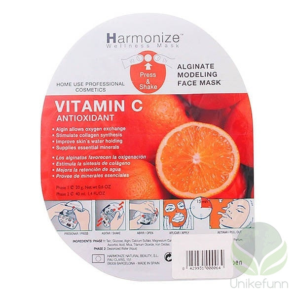 Harmonize - HARMONIZE WELLNESS FACIAL MASK vitamin C
