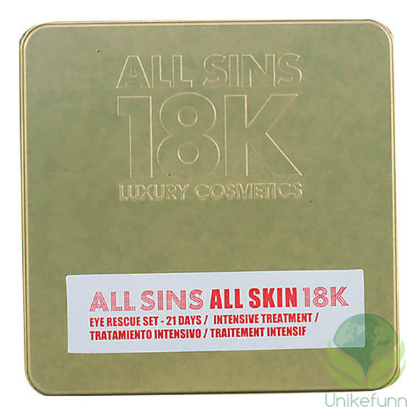 All Sins 18k - ALL SKIN EYE RECUE 21 DAYS INTENSIVE TREATMENT LOTE 2 delers gavesett