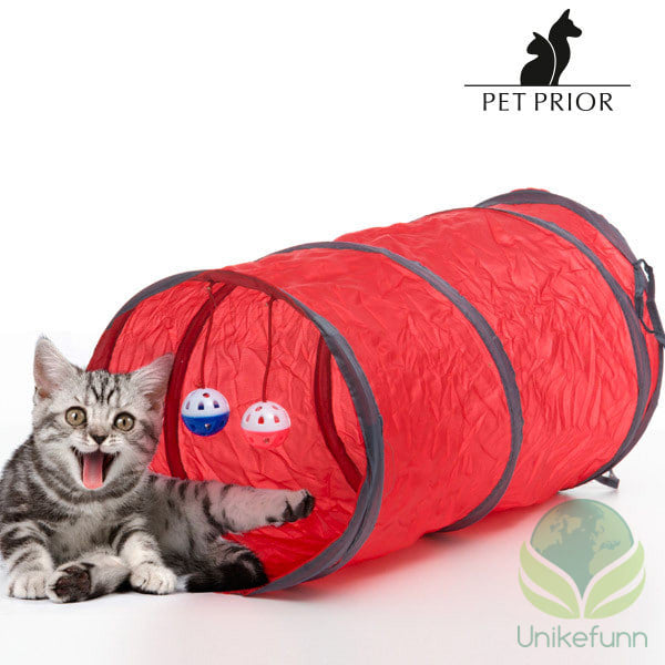 Pet Prior Leketunnel for Katter (3 deler)