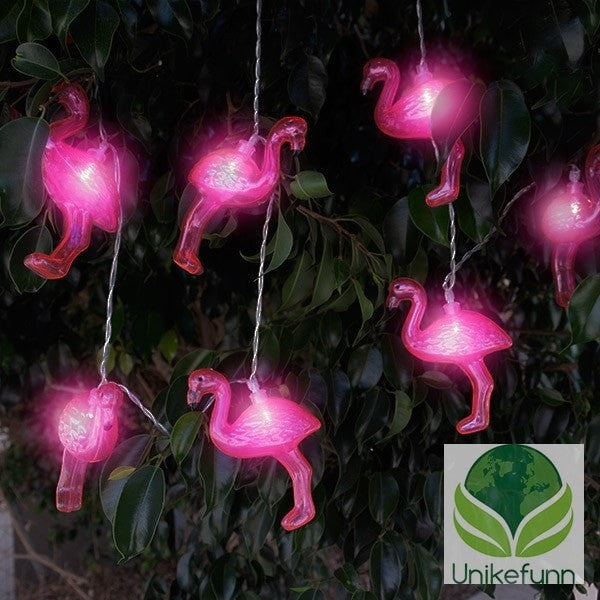Flamingos LED-Krans