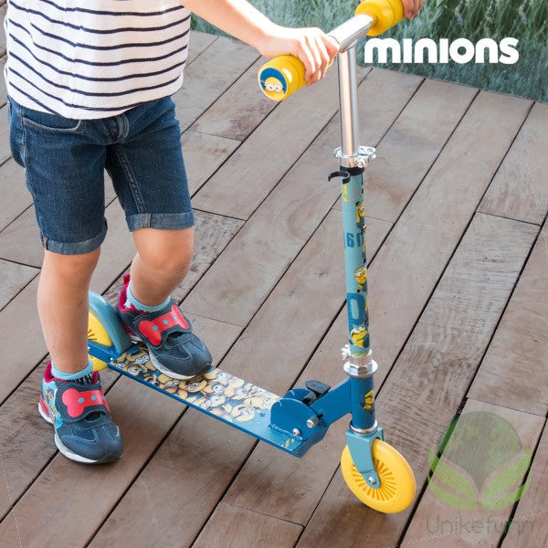 Minions Scooter (2 hjuls)