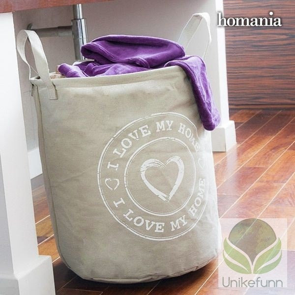 I LOVE MY HOME BY HOMANIA SKITTENTØYSPOSE - Langlevering.no