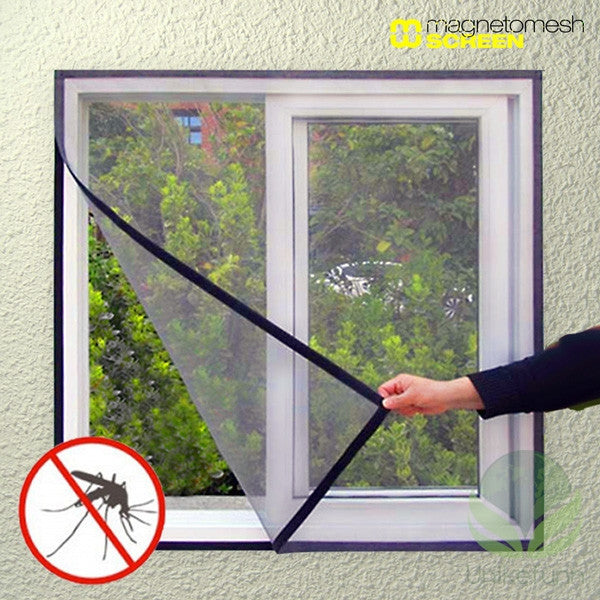 Magneto Mesh Screen Myggnett for Vinduer